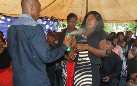 South African Pastor Using Doom Insecticide To Heal Followers - Spur Magazine