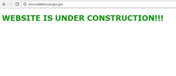 Gambia State Website Down - Spur Magazine