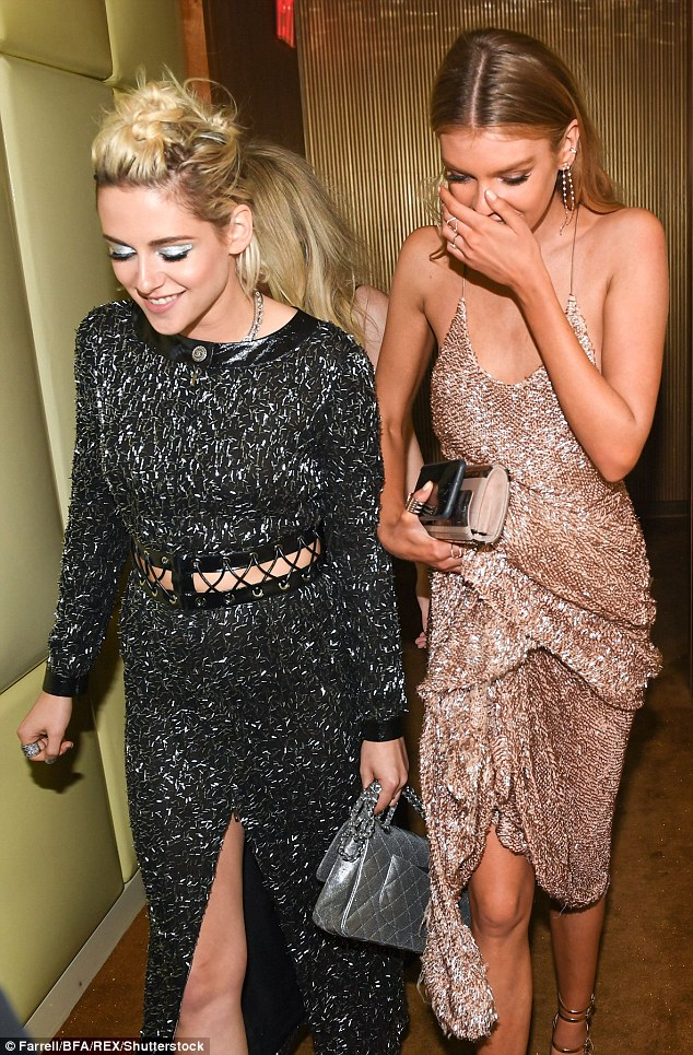 Kristen and stella at the Met Gala New York May 2016 - Spur Magazine