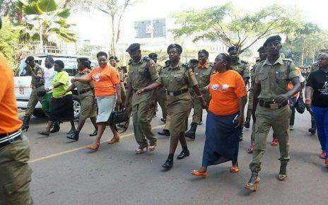 Ug Police Wearing Lady Shoes - Spur Magazine