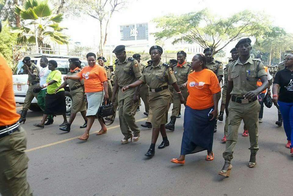Ug Police Wearing Lady Shoes - Spur Magazine