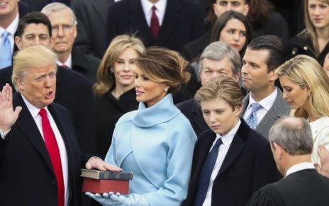 Donald Trump sworn in - Spur Magazine