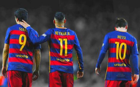 Messi, Suarez, Neymar MSN - Spur Magazine