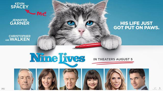 nine lives poster - spur magazine