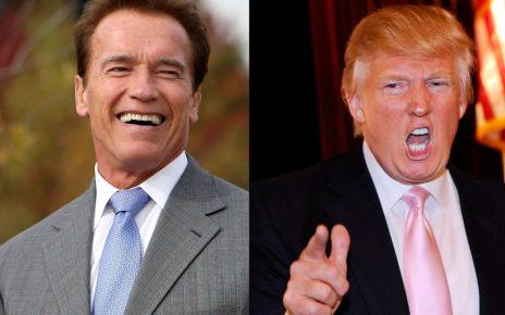 Arnold Schwarzenegger and Trump Beefing - Spur Magazine