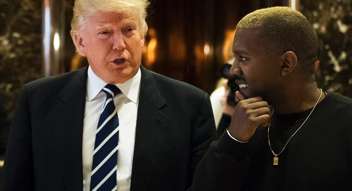 Kanye West and Donald Trump - Spur Magazine