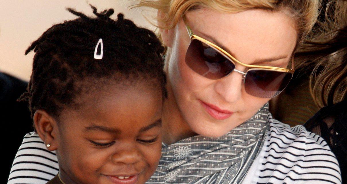 Madonna Adopts Two Twin Malawian Girls - Spur Magazine