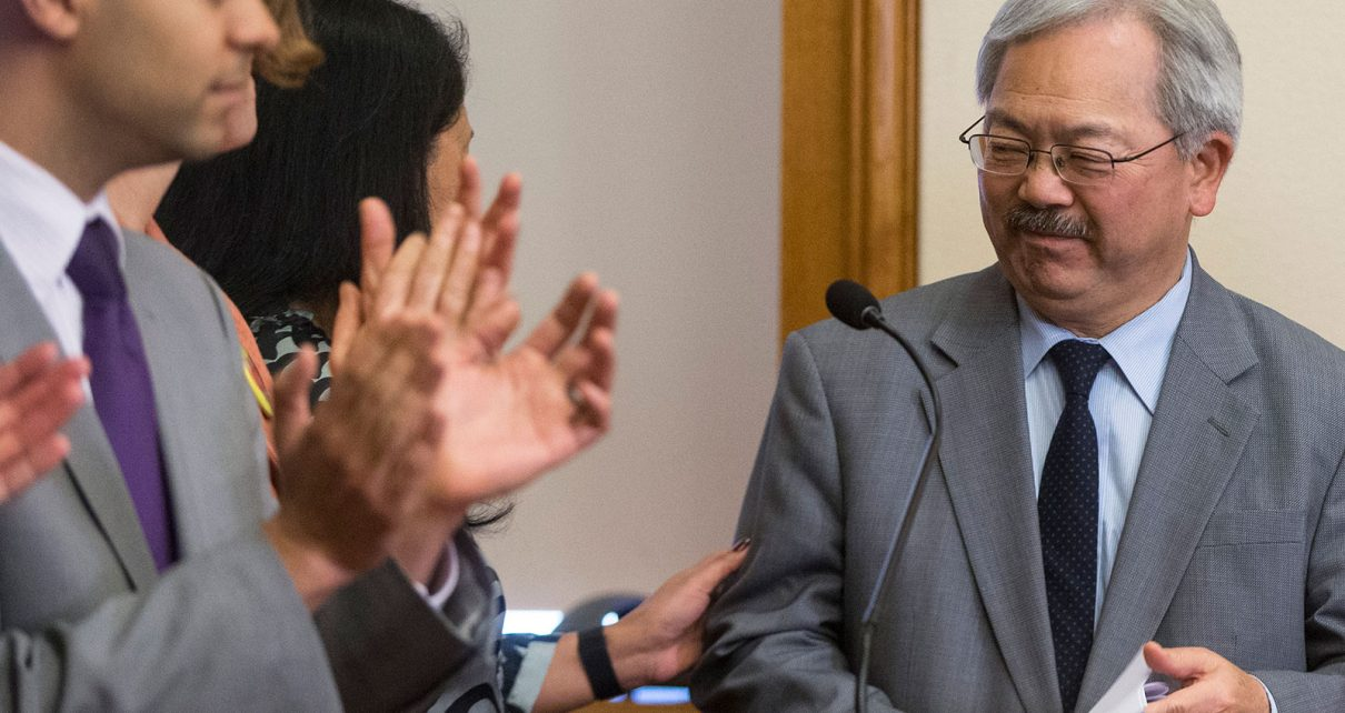 Mayor Ed Lee Free San Francisco Education - Spur Magazine