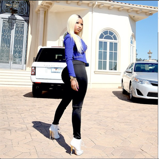 Nicki Minaj's Mansion Robbed - Spur Magazine