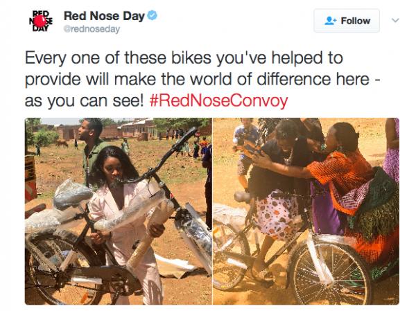 Red Nose Convoy Bicycles to Kadama - Spur Magazine