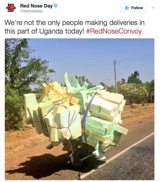 Red Nose Day Deliveries Uganda - Spur Magazine