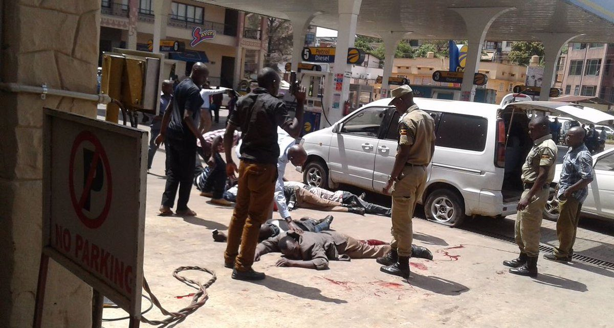 Shootout at city oil and cafe javas - spur magazine