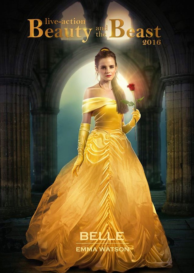 Emma Watson as Belle Disney - Spur Magazine