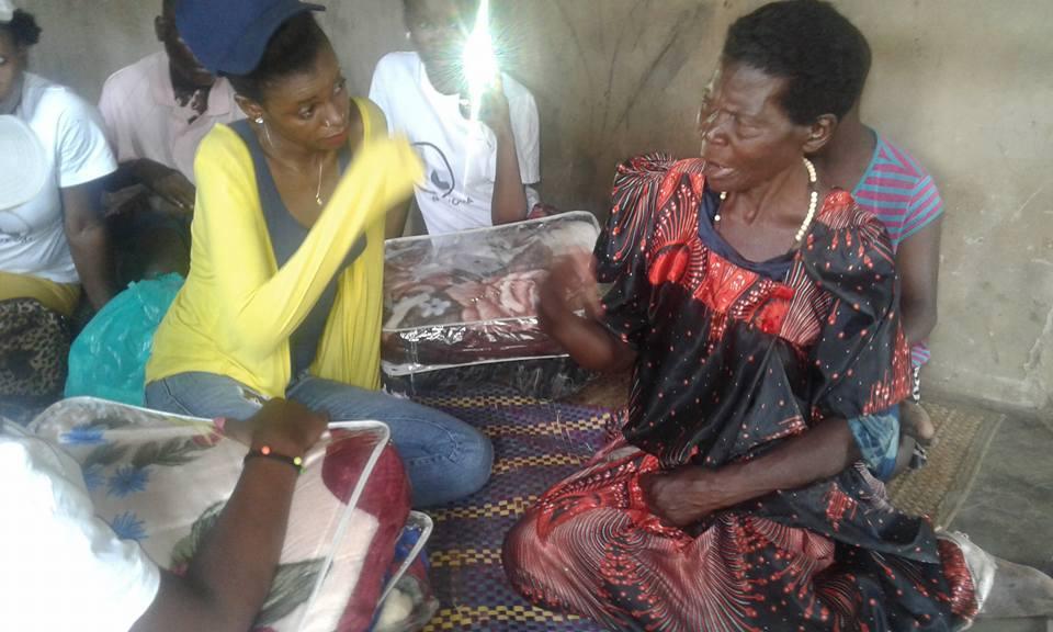 Hellen Lukoma Donates to Charity - Spur Magazine