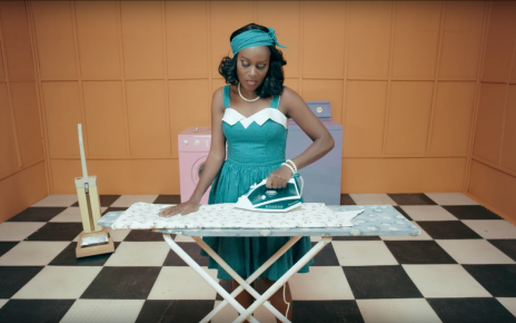 Juliana Kanyomozi Ironing in Im Still Here Video - spur Magazine