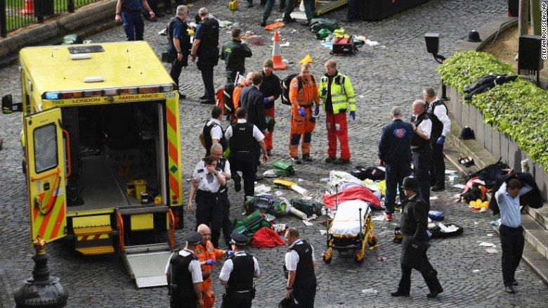 Emergency services London Terror Attack 2017 - Spur Magazine