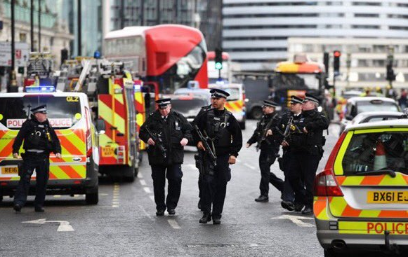 Armed Police Patrol London after attack 2017 - Spur Magazine