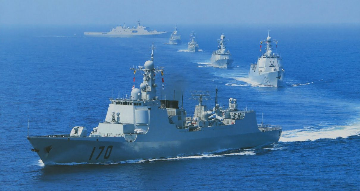 chinese navy in south china sea taiwan - spur magazine