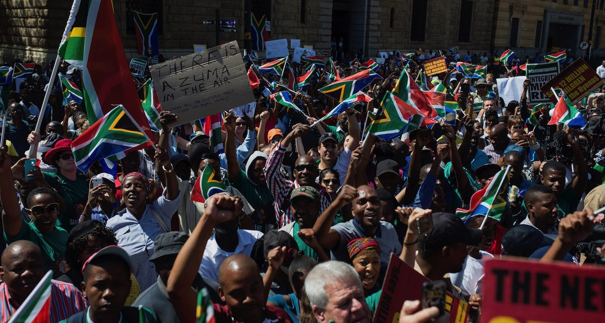 South Africans Protest Zuma Must Go - Spur Magazine