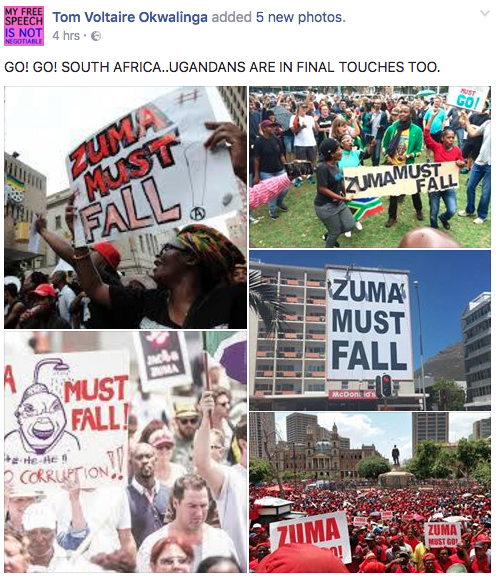 TVO on South African Protests - Spur Magazine