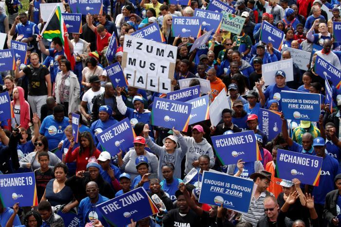 Zuma Must Go Change 19 South Africa - Spur Magazine