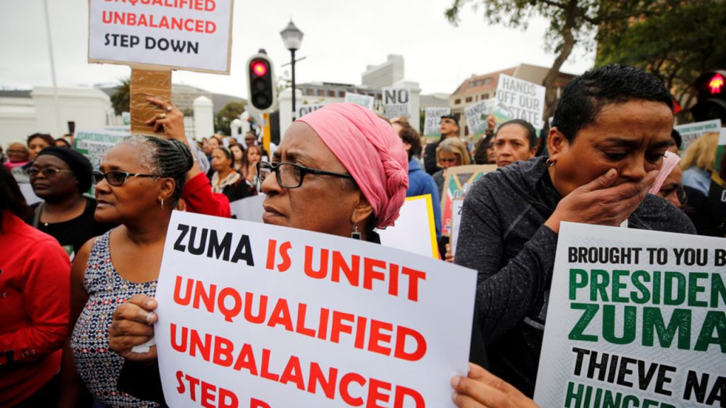 Zuma must go south africa protests - spur magazine