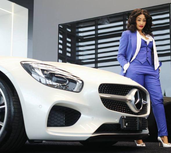 Zari Hassan Teams Up with Mercedes Benz - Spur Magazine