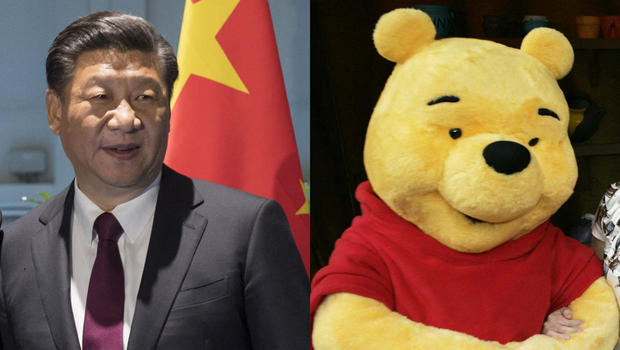 President Xi Jinping China and Winnie the Pooh - Spur Magazine