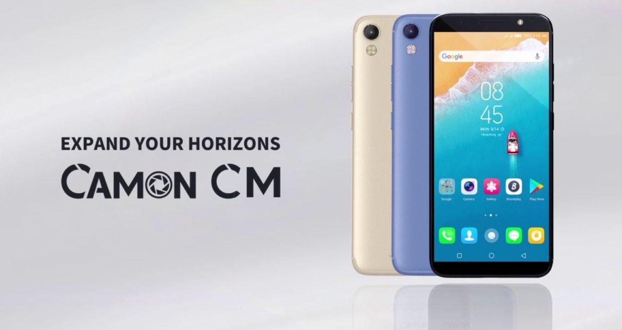 Tecno Launches Camon CM Smartphone in Uganda - Newslibre