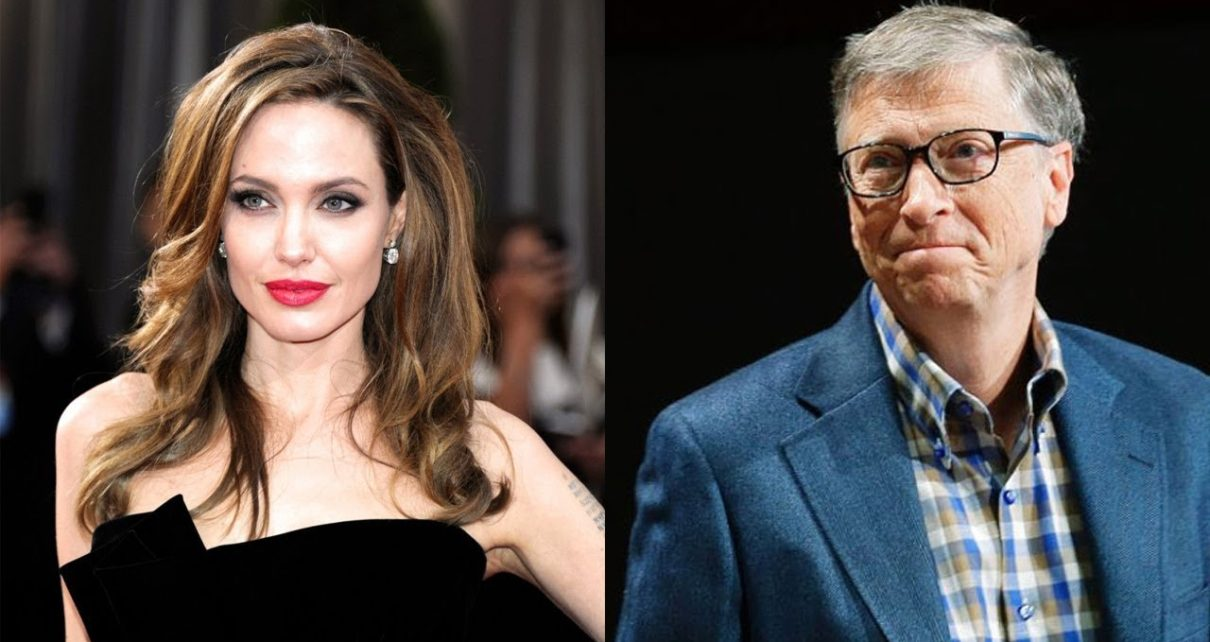 Bill Gates and Angelina Jolie: Most Admired People in 2018 | Spur