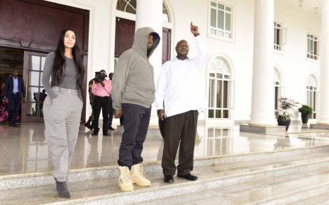 Kanye West and Kim Kardashian Meet President Museveni | Spurzine