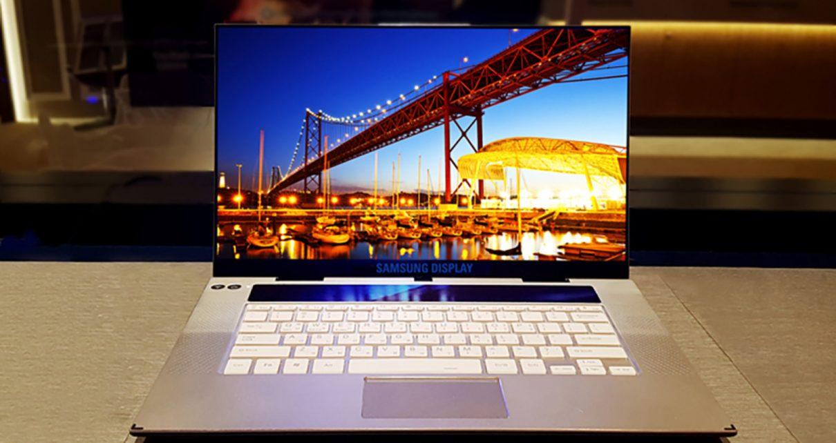 Samsung Reveals New 15.6-inch 4K OLED Display | Spurzine