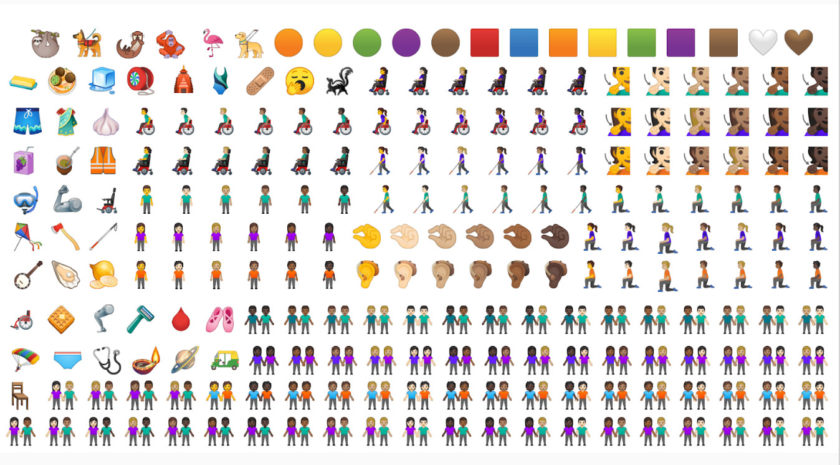 Android Q getting new emoji set.
