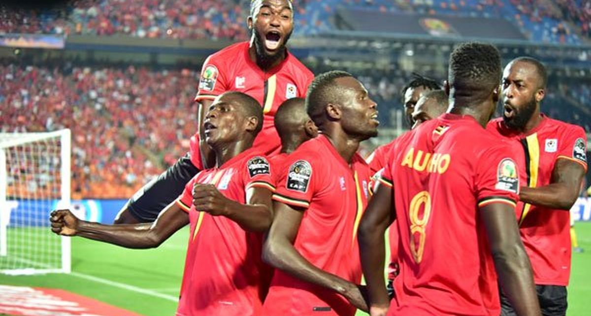 Uganda Cranes qualifies for group B in AFCON 2021 games.