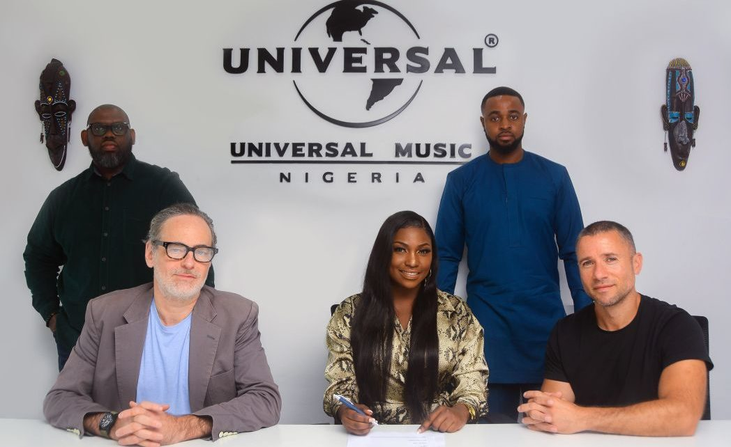 Ugandan singer, Irene Ntale returns to the music scene with her latest major deal signing to Universal Music Group Nigeria.