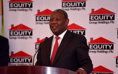 Equity Bank's Chief Executive Officer James Mwangi addresses investors. | Spurzine