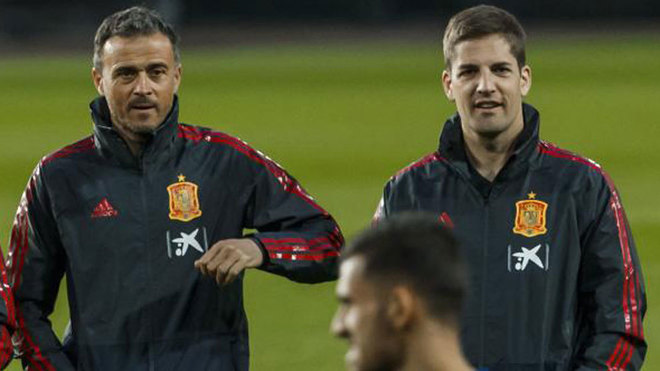 Robert Moreno and Luis Enrique
