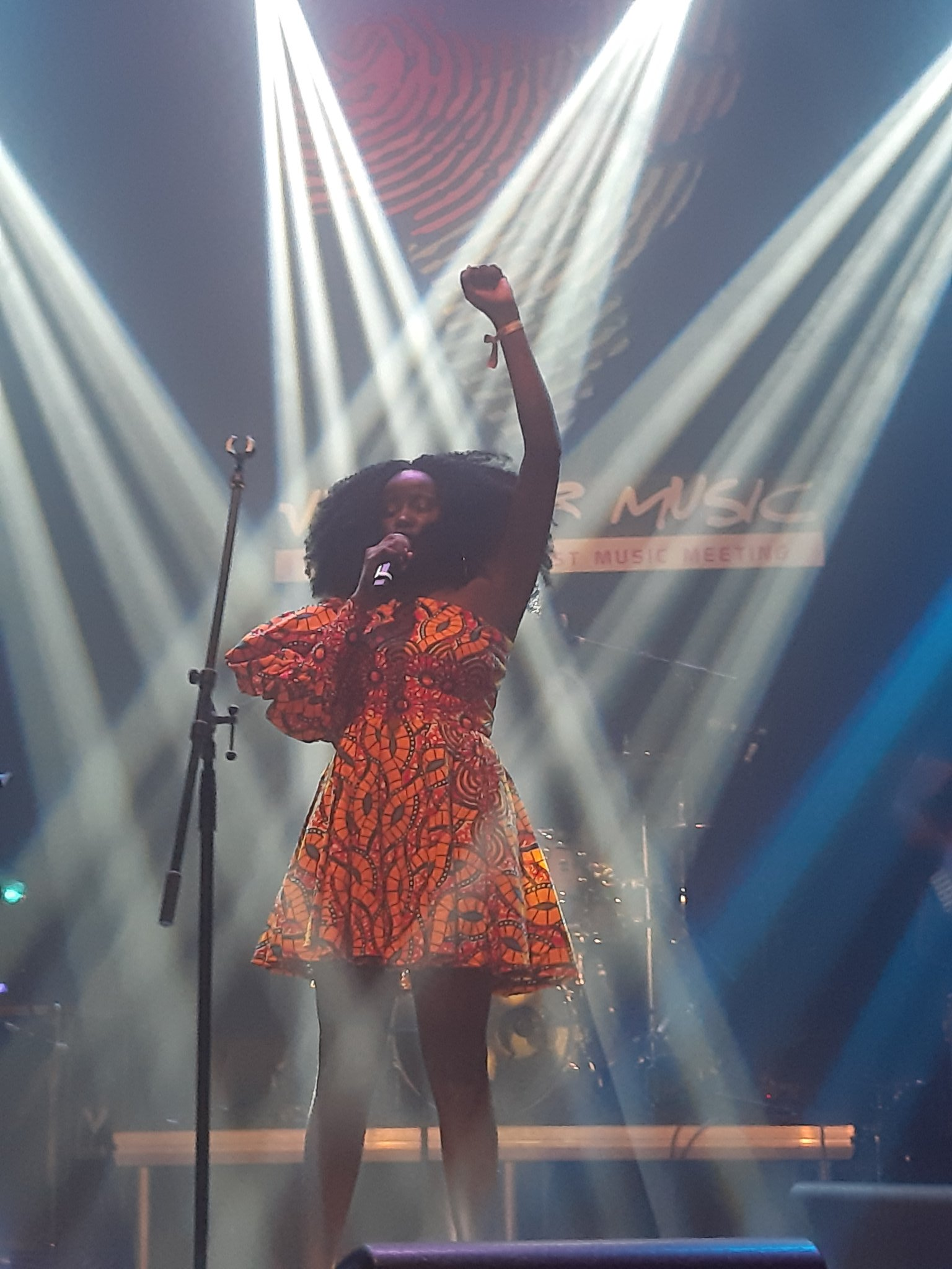 Sandra Nankoma, the Afro-Soul and Jazz diva gave her fans what they wanted during her Black Dame Tour this year at the Visa for Music event last night at the at Salle Renaissance Rabat, Morocco.