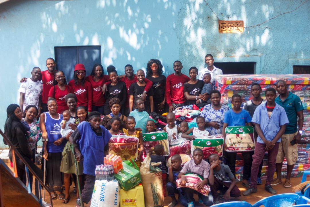 Desire Luzinda Brings Happiness To Orphanage | Spurzine