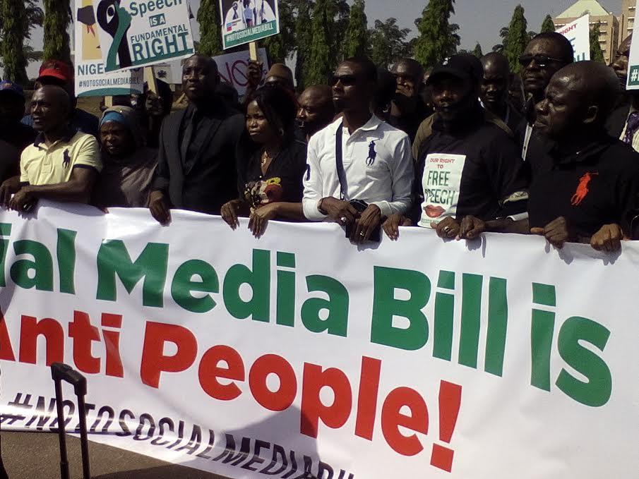 Nigerians Strike Over Social Media Bill | Spurzine