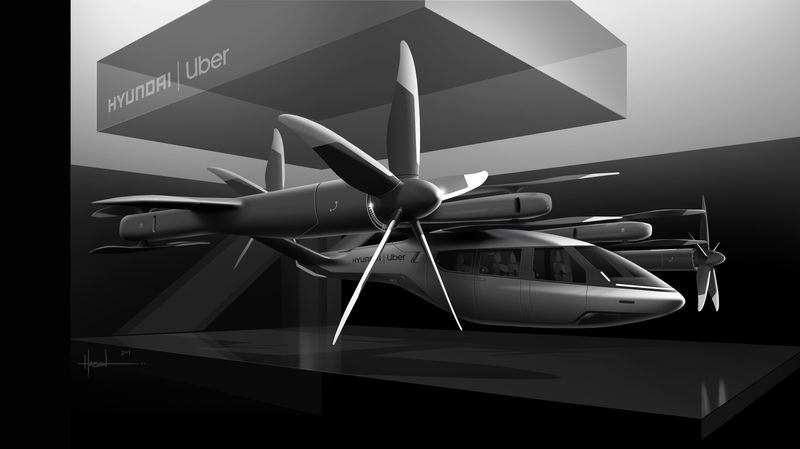 Hyundai To Make Uber's Flying Taxi Concept A Reality | Spurzine