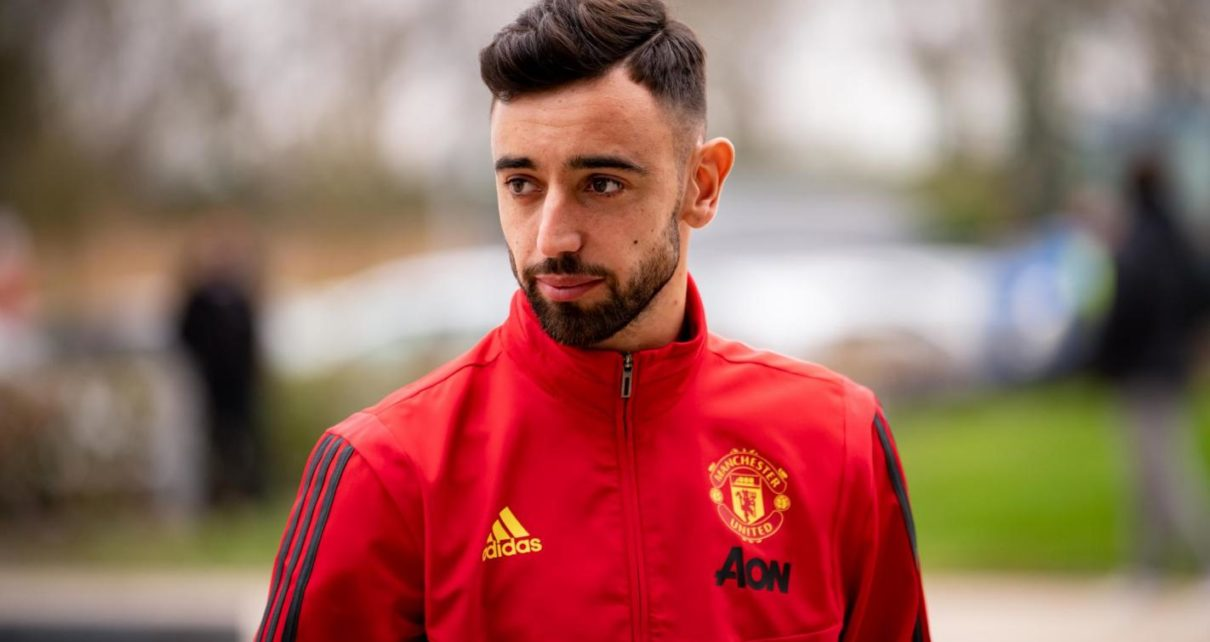 Bruno Fernandes Named Premier League Player of the Month | Spurzine