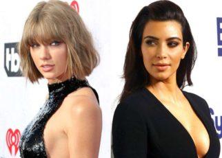 Kim Kardashian Blasts Taylor Swift Over Kanye West Feud | Spurzine