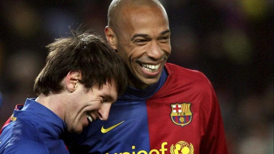 What Lionel Messi Said About Meeting Thierry Henry for the First Time Will Excite Arsenal Fans | Spurzine