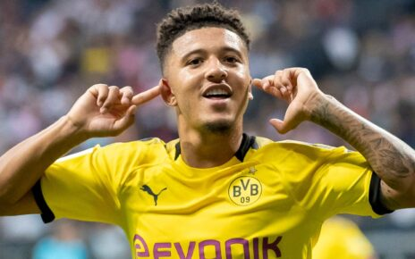 Real Madrid Has Its Eye On English Winger Jadon Sancho | Spurzine
