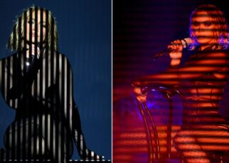Jennifer Lopez Accused of Copying Beyoncé Style at the American Music Awards | Spurzine