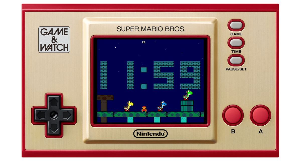 Nintendo to Release a Clock That Can Play Super Mario Bros | Spurzine