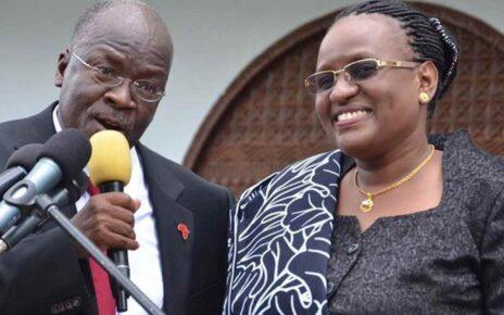 John Magufuli's Widow Janeth Very Sick and Undergoing Treatment | Spurzine